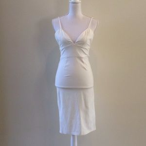White Tobi dress